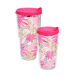 Tervis Pink Mums Tumbler with Lid