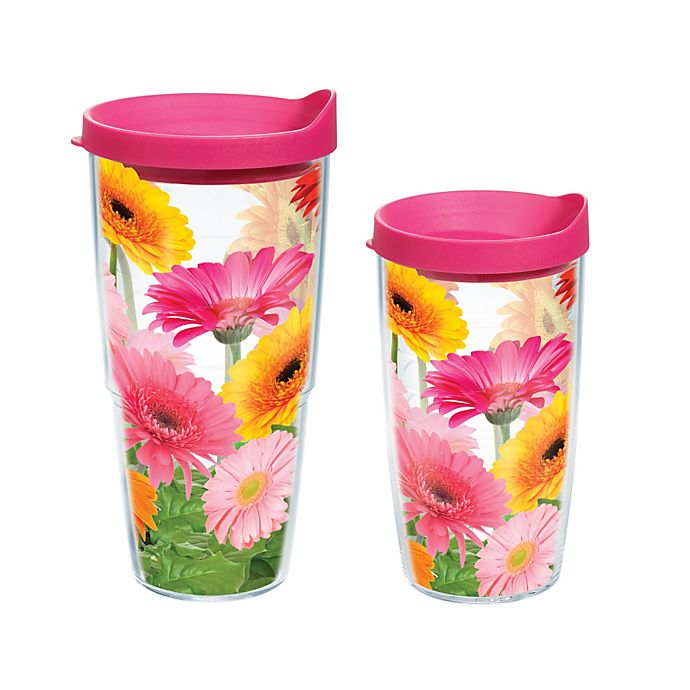 Alternate image 1 for Tervis® Gerbera Daisy Wrap Tumbler with Lid