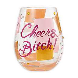 Lolita® Cheers Stemless Wine Glass
