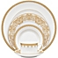 Part of the Waterford® Lismore Lace Gold Dinnerware Collection