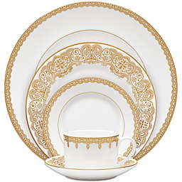 Waterford® Lismore Lace Gold 5-Piece Place Setting