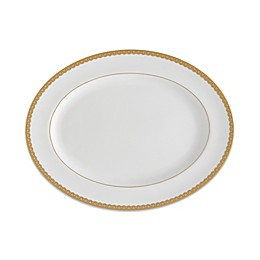 Waterford® Lismore Lace Gold 15.5-Inch Oval Platter