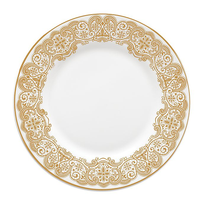 Alternate image 1 for Waterford® Lismore Lace Gold Salad Plate