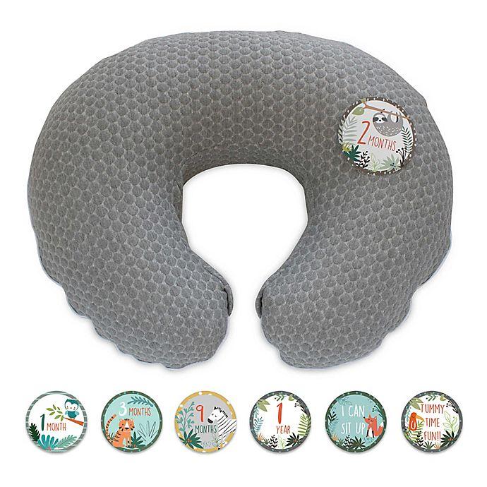 Alternate image 1 for Boppy® Preferred Nursing Pillow Cover in Milestone Gray
