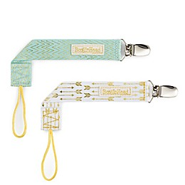 BooginHead® PaciGrip 2-Pack Luxury Pacifier Straps