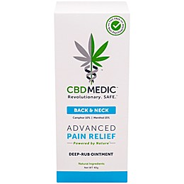 CBDMEDIC™ 1.41 oz. Back & Neck Pain Relief Ointment