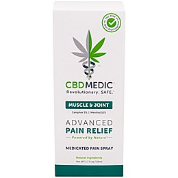 CBDMEDIC™ 1.7 oz. Muscle & Joint Medicated Spray