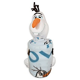 Disney® Frozen 2 Olaf Knows Character Shaped Pillow and Fleece Throw Blanket Set
