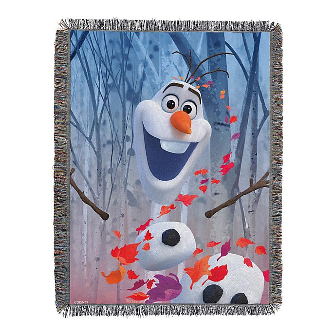 Alternate image 1 for Disney® Frozen 2 In The Leaves Woven Tapestry Throw Blanket