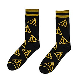 Harry Potter™ Deathly Hallows Socks in Black