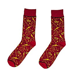 Harry Potter™ Quidditch Crew Socks in Maroon