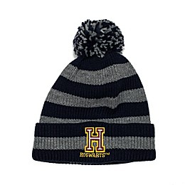 Harry Potter™ Hogwarts Patch Striped Knit Beanie