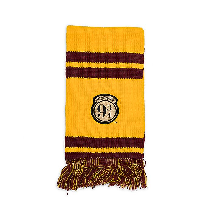 Alternate image 1 for Harry Potter™ Platform 9 3/4 Striped Knit Scarf