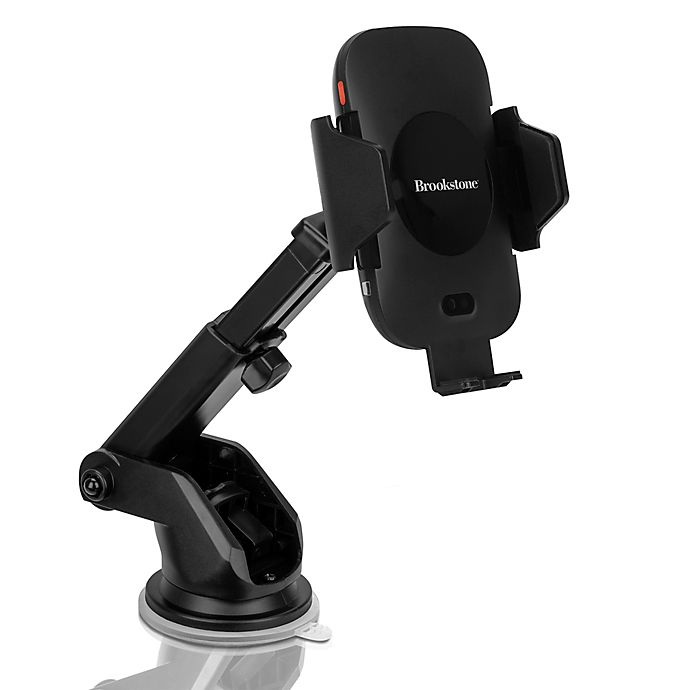 Alternate image 1 for Brookstone® Qi Charging Auto Sensing Car Mount