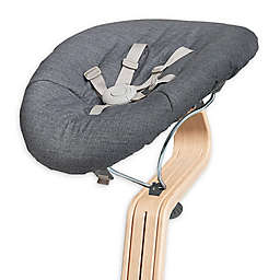Nomi Baby Bouncer Attachment for Nomi High Chair on Grey Frame with Grey Cushion