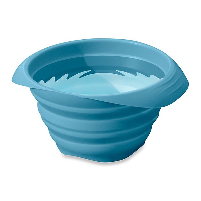 Alternate image 1 for Pet Collaps-a-Bowl in Blue