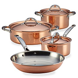 Ruffoni Symphonia Cupra 7-Piece Copper Cookware Set