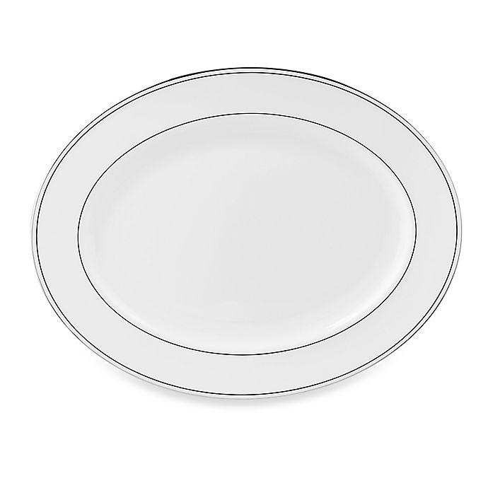 Alternate image 1 for Lenox® Federal Platinum™  16-Inch Oval Platter