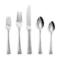 Lenox® Federal Platinum Frosted 5-Piece Flatware Place Setting