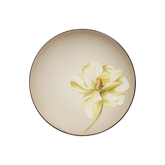 Alternate image 1 for Noritake® Colorwave Floral Accent Plate in Chocolate