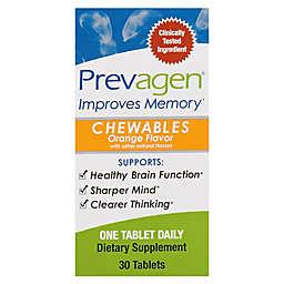 Prevagene® 30-Count Chewable Tablets in Orange Flavor
