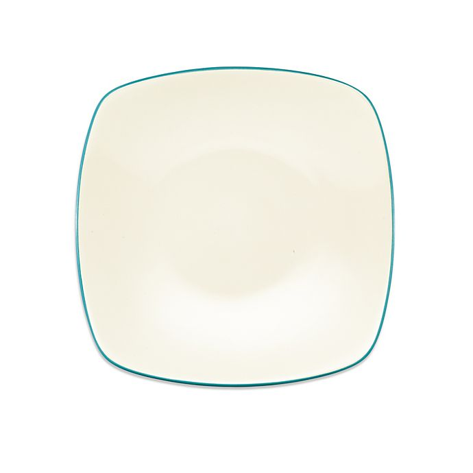 Alternate image 1 for Noritake® Colorwave Square Platter in Turquoise