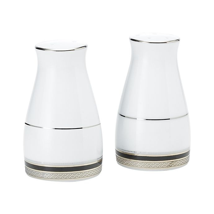 Alternate image 1 for Noritake® Austin Platinum Salt and Pepper Shakers