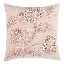 Wamsutta® Baylee Square Throw Pillow in Coral