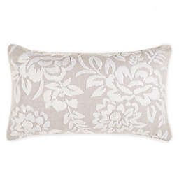 Wamsutta® Huntington Oblong Throw Pillow in Dove Grey