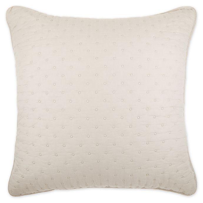 Alternate image 1 for Wamsutta® Huntington European Pillow Sham in Dove Grey