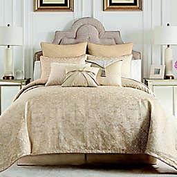 Waterford® Olann 4-Piece Queen Comforter Set in Gold