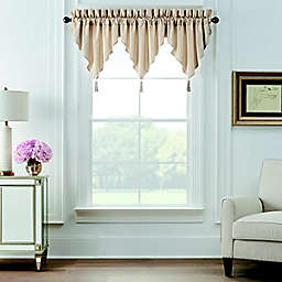 Waterford® Olann Window Valances in Gold (Set of 3)