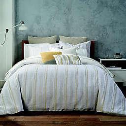Highline Bedding Co. Terrain Stripe 3-Piece King/California King Comforter Set in Banana