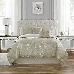 Waterford® Fine Linens Gael 4-Piece Reversible Comforter Set