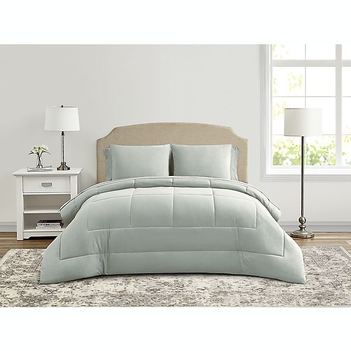 Alternate image 1 for Wamsutta® Lustleigh Washed 7-Piece Comforter Set