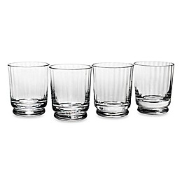 Reed & Barton Heritage Austin Double Old Fashioned Glasses (Set of 4)