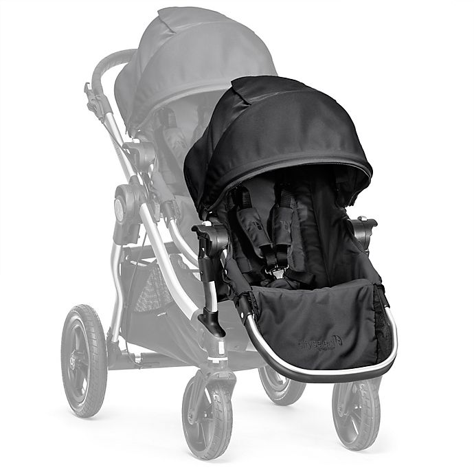 Baby Jogger 174 City Select 174 Silver Frame Second Seat Kit In