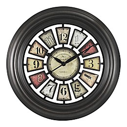 "FirsTime® Industrial Chic 29"" Wall Clock"