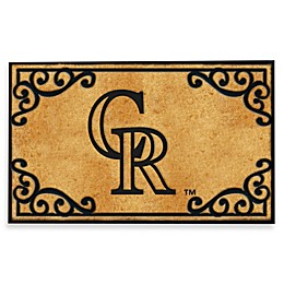 MLB Colorado Rockies Door Mat