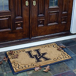 Collegiate Coir Fiber Door Mat