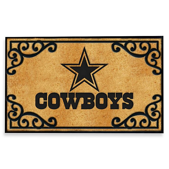 Dallas Cowboys Welcome Home Sign: NFL Dallas Cowboys Door Mat