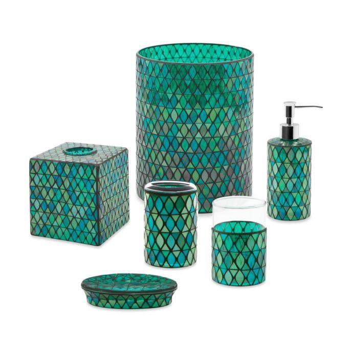 Bed Bath And Beyond Bath Accessories: Emerald Bathroom Accessories
