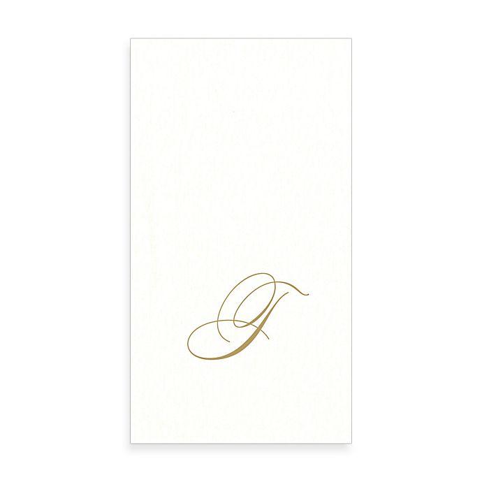 Alternate image 1 for Caspari Monogram Letter \