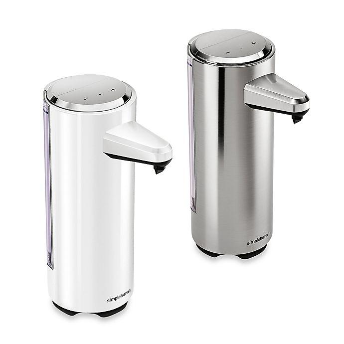 Alternate image 1 for simplehuman® Rechargeable Bath Sensor Pump