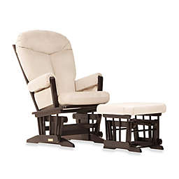 Dutailier® Ultramotion Bella Classic Glider and Ottoman in Buckwheat