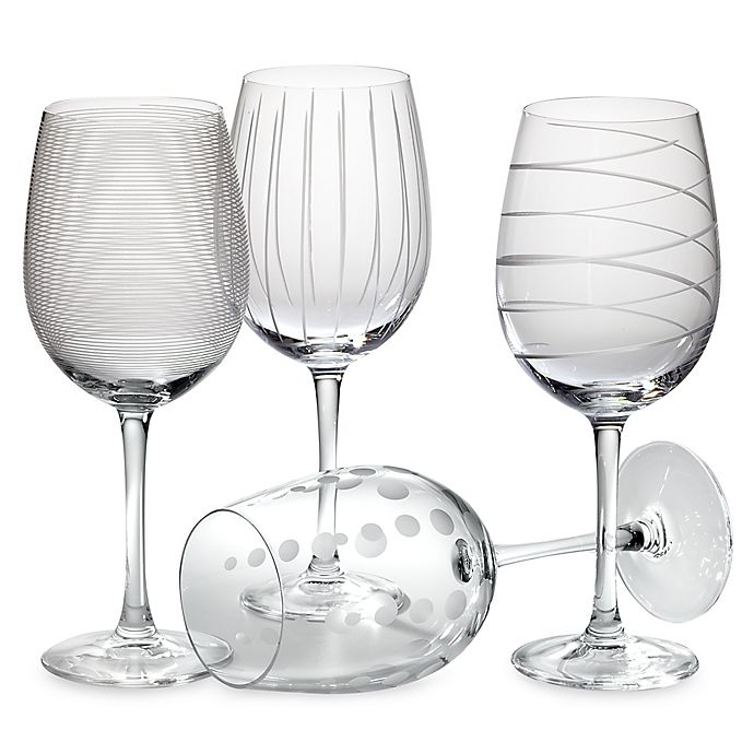 Alternate image 1 for Mikasa® Cheers 16 oz. White Wine Glasses (Set of 4)
