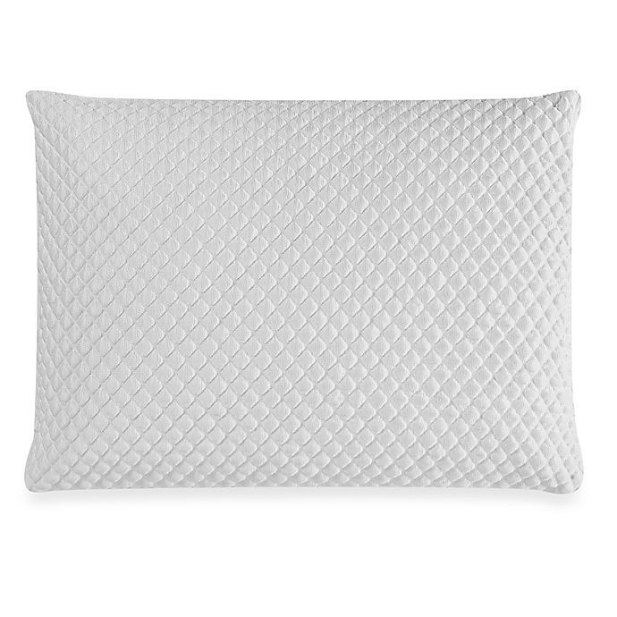 Alternate image 1 for Therapedic® TruCool® Memory Foam  Back/Stomach Sleeper Pillow