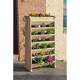 Vertical Indoor/Outdoor Garden Planter in Cedar