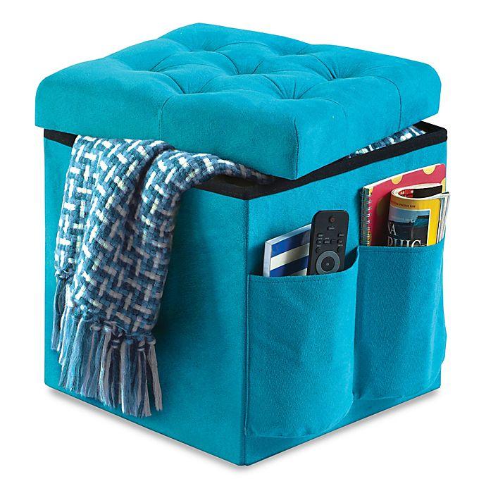 Buy Anthology™ Folding Storage Ottoman From Bed Bath & Beyond
