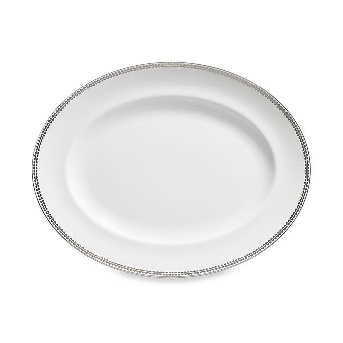 Alternate image 1 for Vera Wang Wedgwood® Flirt 13.75-Inch Oval Platter